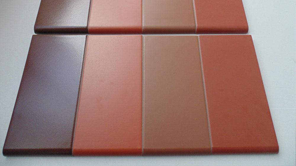 Parapety klinkierowe - kolory