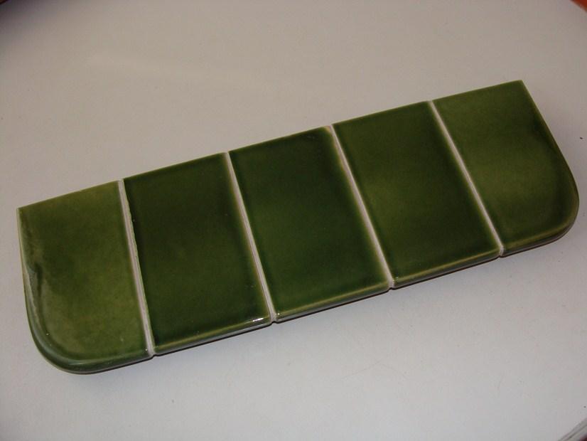 Parapet zespolony zielony